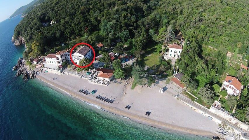App 3 direct on the beach - Mošćenička Draga - Διαμέρισμα