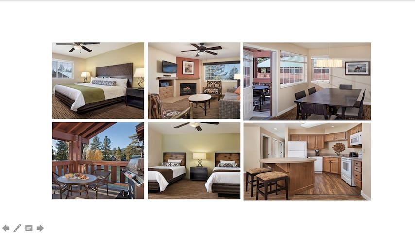 2 Bed/2 Ba Wyndham Condo~Sleeps 6~NO CLEANING FEES - Big Bear Lake - Departamento