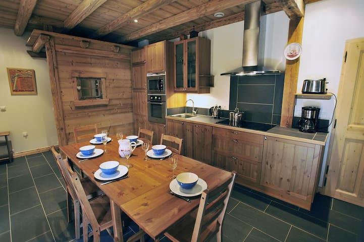 Appartement de charme dans chalet au coeur des 3V - Saint-Martin-de-Belleville - Appartement