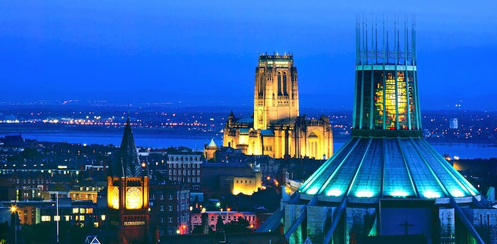 City Centre Cathedral-View apartment FREE PARKING - Liverpool - Daire