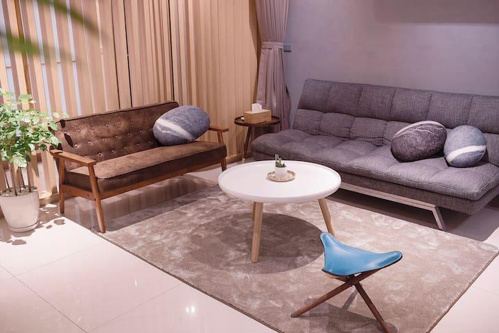『礁溪溫泉.日暖公寓』全新打造日式設計溫泉小宅(2-6人) - Jiaoxi Township - Apartament