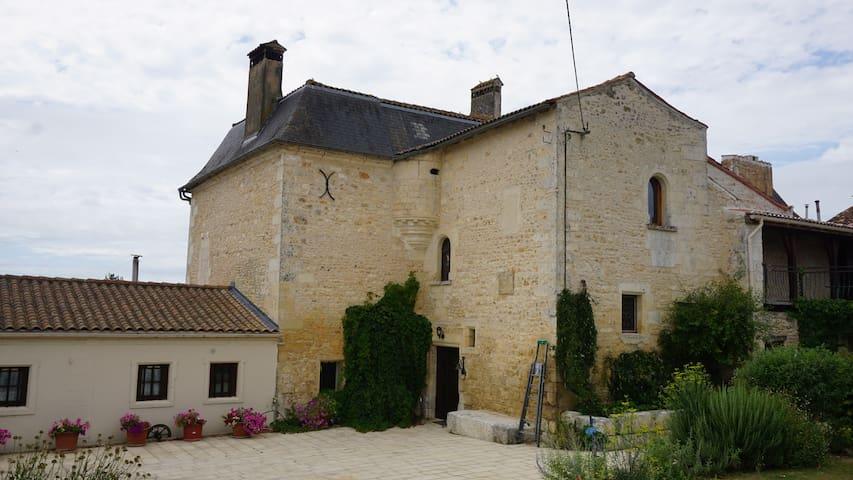 Athos, Le logis de la Brossadière - Taillebourg