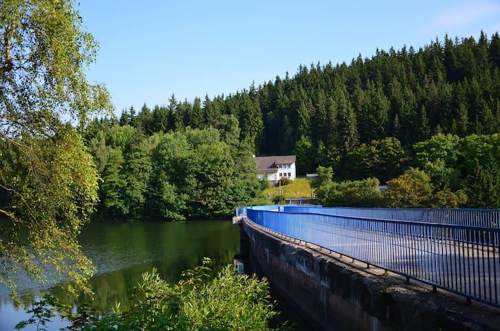 Ferienhaus Lütsche - Wohnung groß EG - Frankenhain - Apartamento