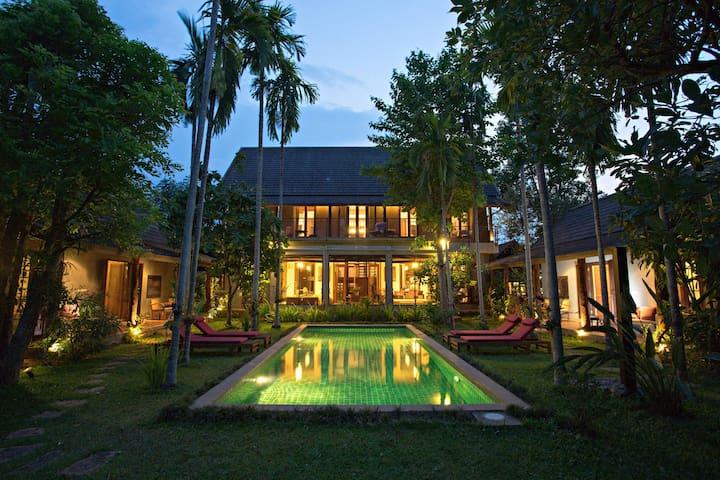 Paya Villa, Ping Riverfront Home - Hang Dong - Vila