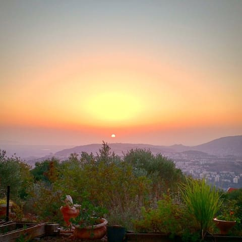 Magical view, private apartment in the Galilee - Mikhmanim - Leilighet