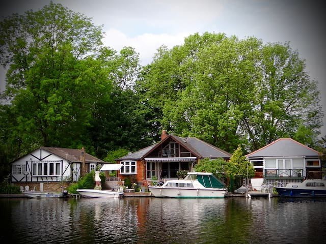 Private island in Sunbury on Thames - Surrey - Bed & Breakfast