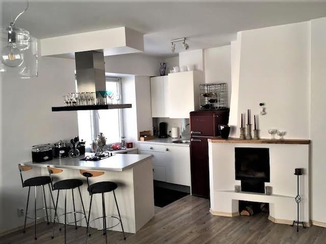 City center apartment in the bohemian vibe area - Tallinn - Lägenhet