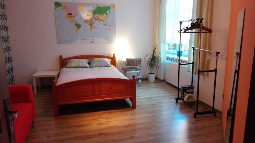 Ultracomfy bed for 2 - Katowice - Apartemen