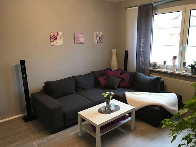 Gemütliche Wohnung in zentraler Lage mit Garten - Eberswalde - Lägenhet
