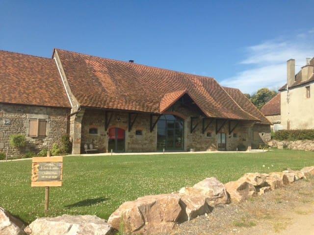 Marie de Serles en Gite/Bourgogne du Sud - Gourdon - Natuur/eco-lodge