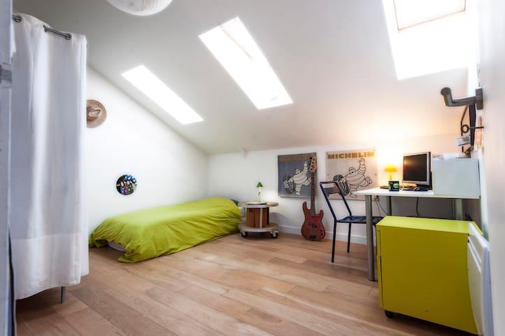 Chambre chez l'habitant - Рубе - Лофт