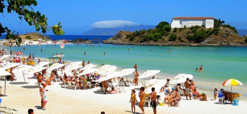 Praia do Forte quadra da praia - Cabo Frio - Daire