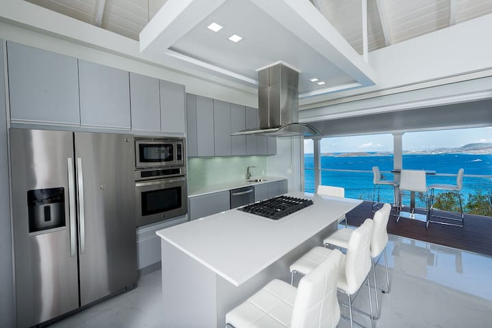 Brand New, Ultra Modern Cottage, Multi Ocean views - Cruz Bay - Apartmen