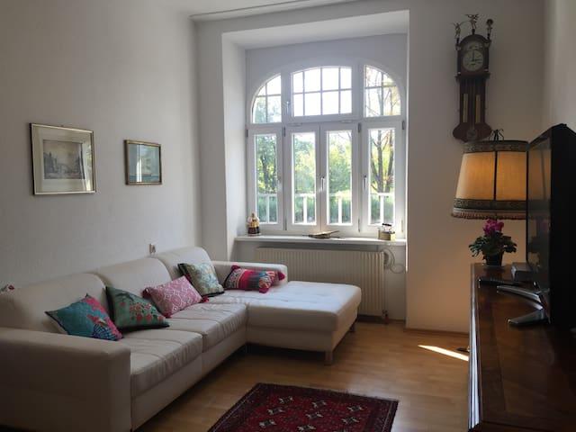 Spacious bright flat in front of Inn river - Innsbruck - Departamento