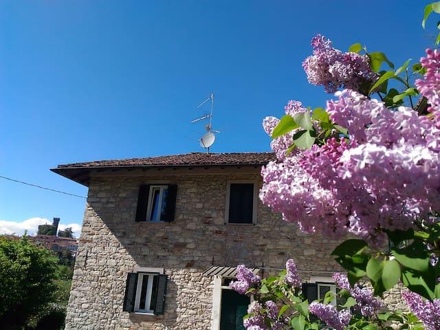 """""""Casa dei nonni""""- Camera Fior di papavero - Trisobbio - House"""