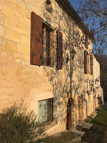Villa La Maroutine au sein de l'Entre-Deux-Mers - Le Tourne - Квартира
