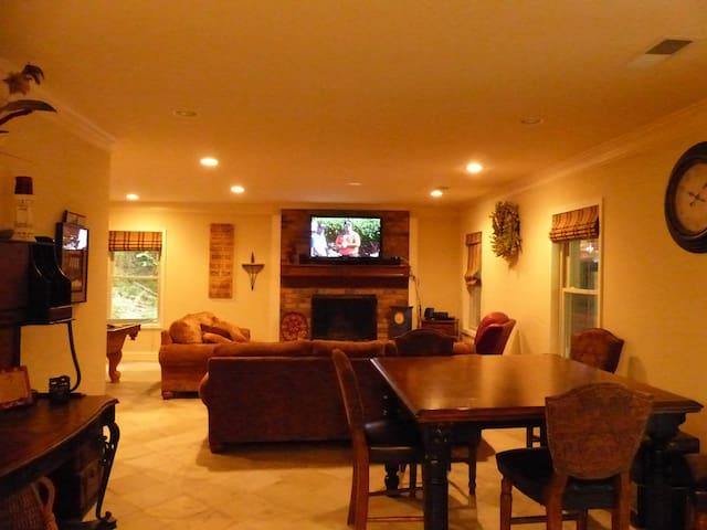 Terrace apartment in river house - Lilburn - Huoneisto