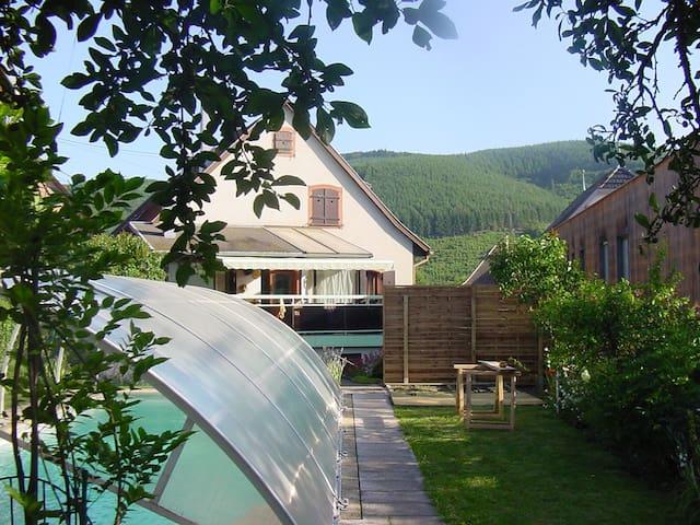 Printemps / été en Alsace - Urmatt - Lägenhet