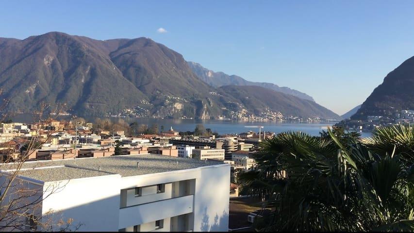 Studio apartment in Lugano (nice view & location) - Lugano - アパート