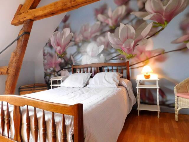Les Magnolias, Chambre d'Hôtes - Trie-la-Ville - Bed & Breakfast