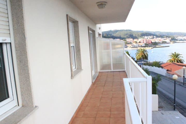 Modern and new flat with relaxing sea sightseeing - Corcubión