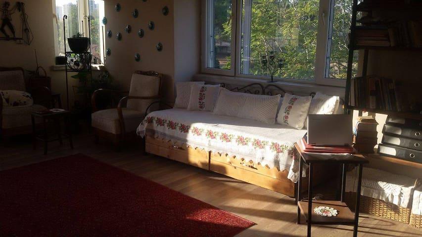 cozy sunny room in Antalya with common terrace! - Antalya - Huis