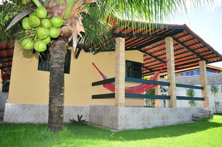 Casa em Condomínio Fechado, Frente ao Mar,Jacumã - Conde - Casa