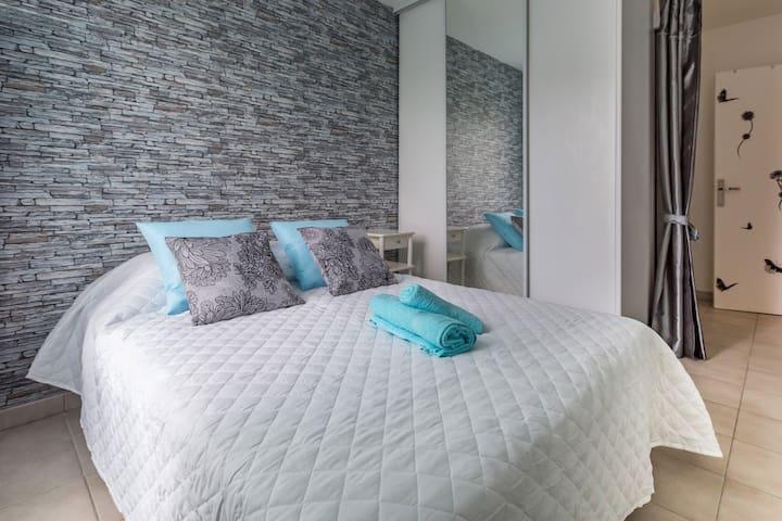 Charmant et lumineux appartement proche Disneyland - Bussy-Saint-Georges - Apartamento
