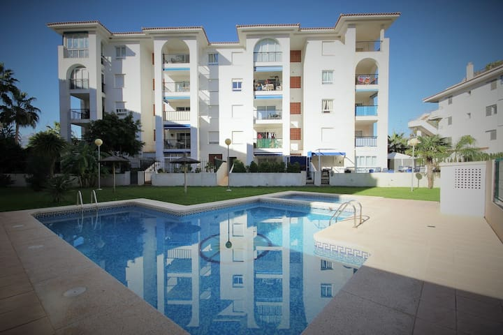 Beautiful apartment near the beach - l'Alfàs del Pi - Departamento