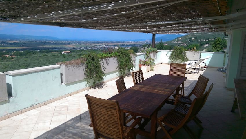 Panoramic Terrace - Trevi - Daire