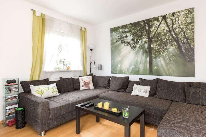 Beautiful private rooms in Berlin - Berlijn - Huis