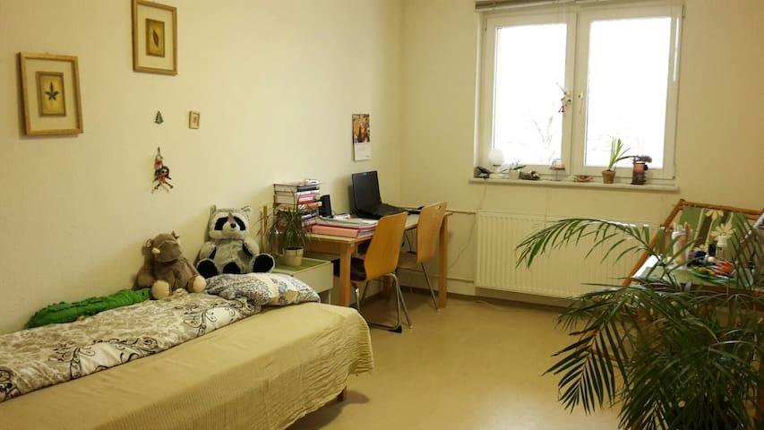 Cozy room close to TU Chemnitz - Chemnitz - Yatakhane