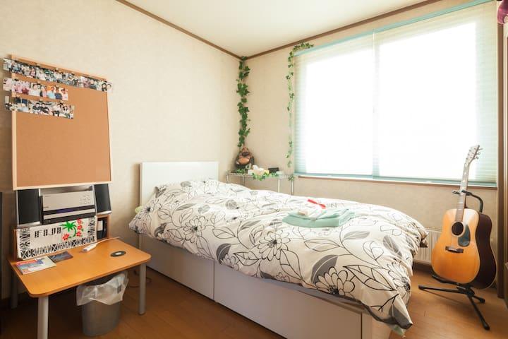 Memory foam mattress bed ☆(JR Shiroishi Sta 6min) - Sapporo-shi - Hus