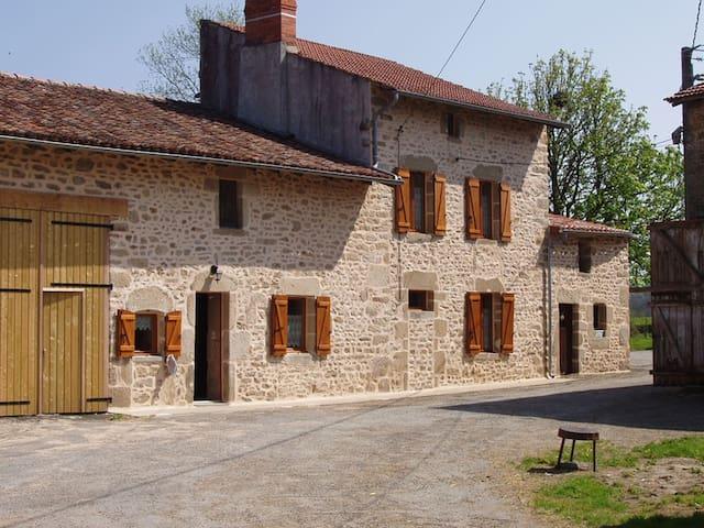 Un gîte douillet dans un hameau limousin - Châteauponsac - Hus
