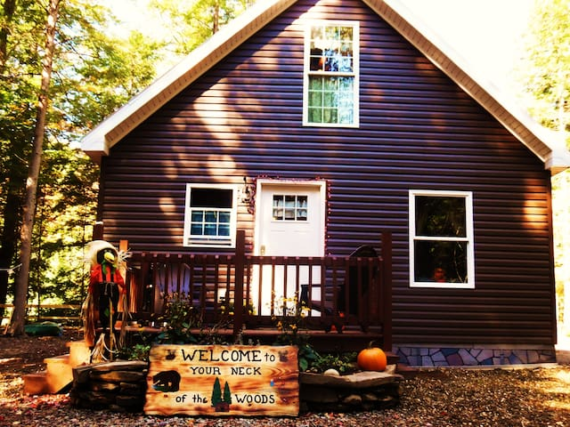 Your Neck of the Woods Cabin Rental - Taberg - Chatka