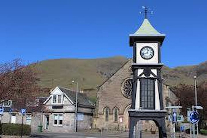 Accomodation in village location near Stirling - Tillicoultry - Pension