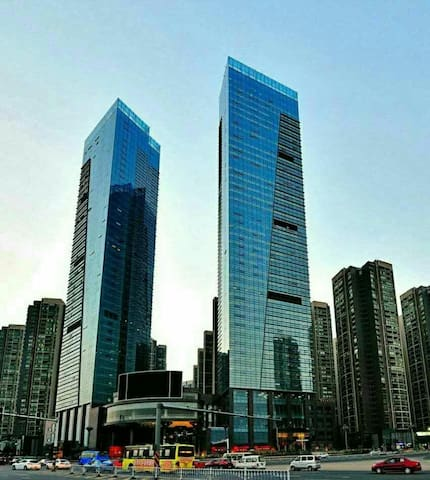 会展城贵阳北站旁的温馨小屋 - Guiyang Shi