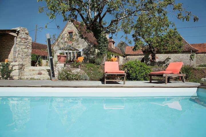 - LE GITE DE BERLE - classé 4 épis - Chauffour-sur-Vell - Arazi Evi