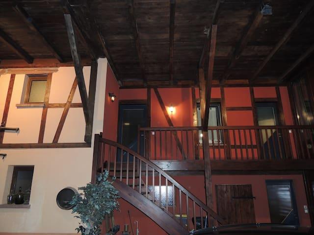Studio 15km de Strasbourg - Furdenheim - Appartement