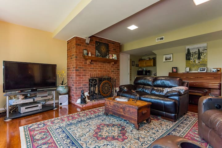 Beautiful private two bedroom and private bath. - Franklin - Hus