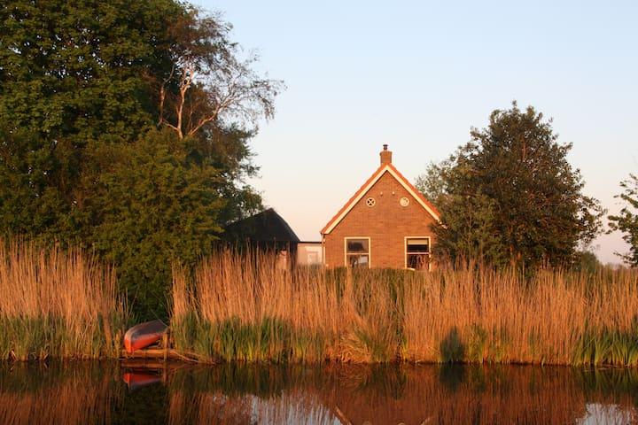 Waterside country villa - Echtenerbrug - Talo