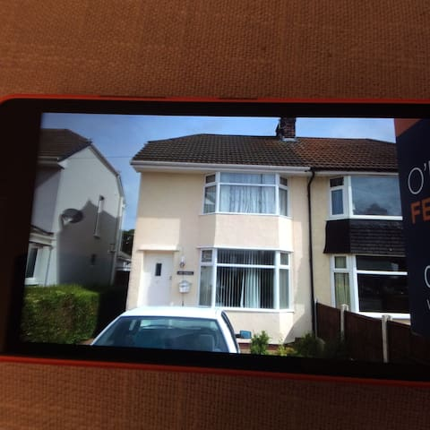 A double room in  a  3 bedhouse. - Chester - Casa
