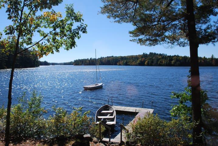 cozy lakefront cottage - Readfield