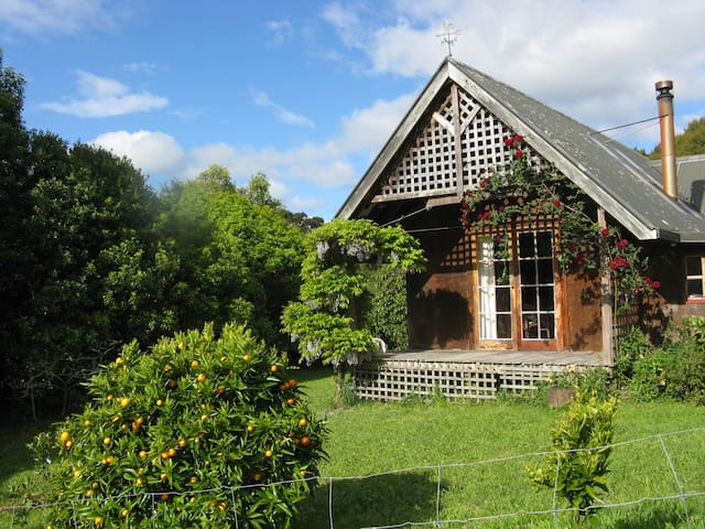 Rural Cottage near Paynes Ford, Golden Bay. - Takaka - 牧人小屋
