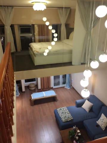 园林地带,豪华装修,高端配置,体贴呵护式住宿体验 - 焦作 - Daire