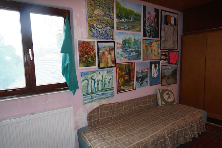Attractive rooms with beautiful art works - Pančevo - Haus
