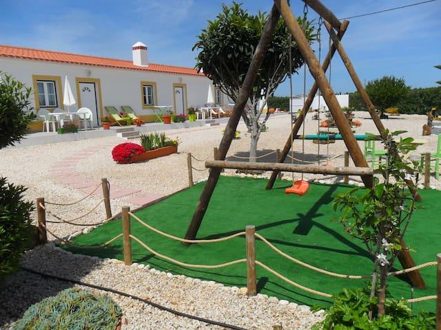 "A ""Casa Laranja"" em espaço rural  - Odemira Municipality - Villa"