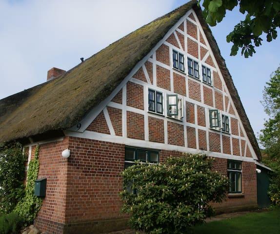 Haus zum Deich  - Ferienwohnung im Alten Land - Hollern-Twielenfleth - Leilighet