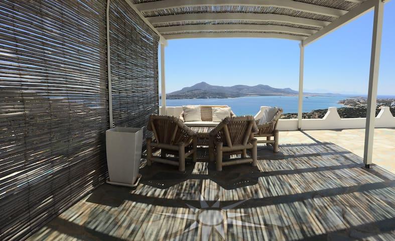 Luxurious villa with pool and a STUNNING view - Agios Georgios - Villa