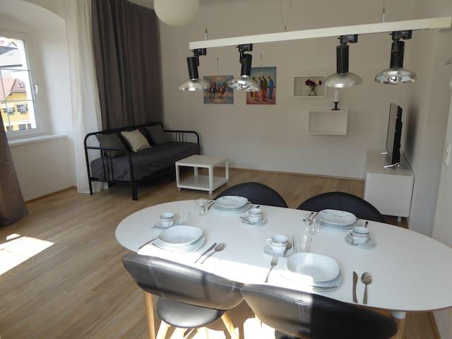 Moderne Altstadtwohnung mit Traunseeblick - Gmunden - Appartement
